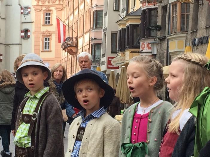 Volksmusik mitten in Innsbruck