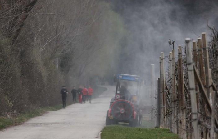 Giftspritzen in Südtirol