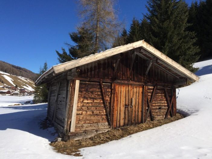 Heuhütte in Obernberg am Brenner