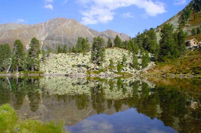 Wer kennt diesen See? Es ist der Puchersee im Wörgetal bei Kühtai. Eine 1-Tages-Wanderung der Sonderklasse.