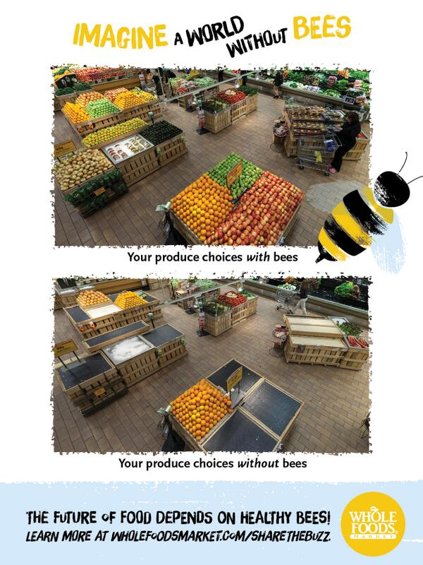 So schaut's aus, wenn wir die Bienen vergiftet haben werden.