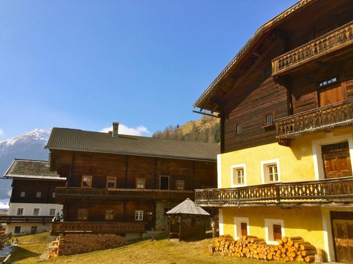 Das malerische Bergsteigerdorf Innervillgraten