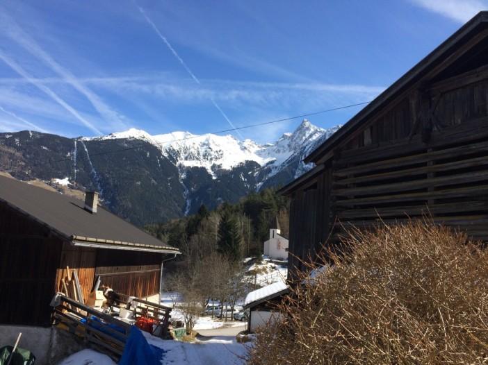 Blick von Piburg zum Acherkogel. Tirol vom Allerfeinsten.