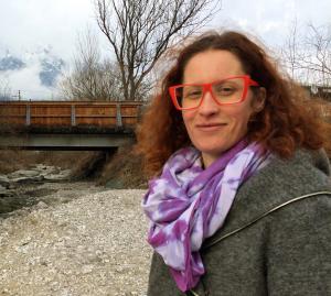 Manuela Phohl von der Initiative NEIN zur Spange HALL OST: von den Grünen hört und sieht man nichts.