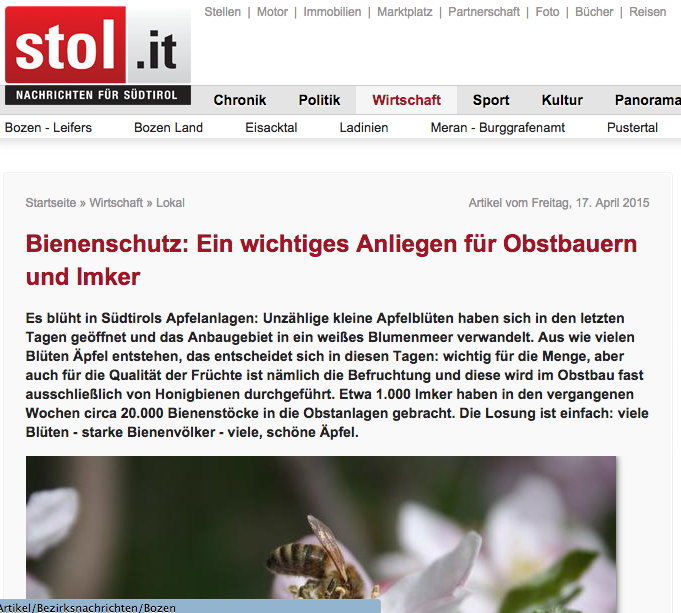 Die 'Nachrichten für Südtirol' wollten Öl auf die Wogen gießen und griffen zu Benzin!