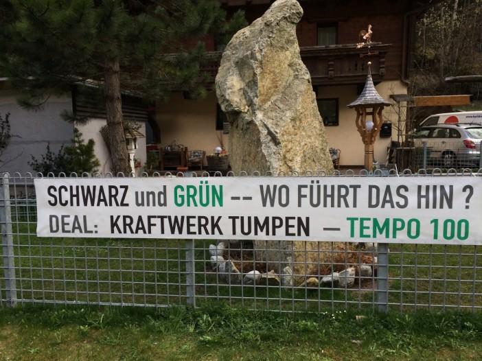 Auf das unsägliche Verhalten der Tiroler Grünen im Zusammenhang mit dem unsinnigsten Kraftwerk Tirols werde ich in einem der nächsten Blogs noch zurückkommen.