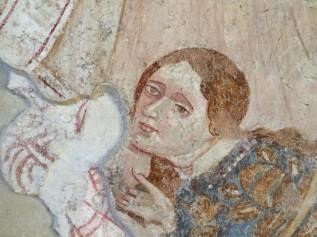 Maria Magdalena, wie sie Jesus die Füße wäscht