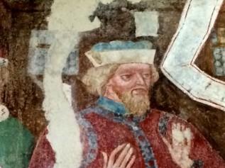 Dieses Fresko zeigt den Pharisäer Simon bei seinem Treffen mit Jesus