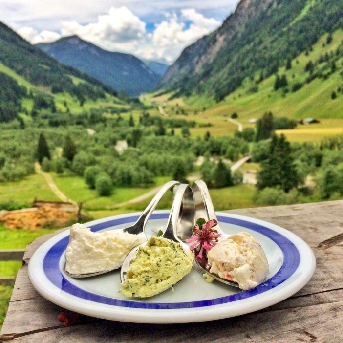 Der Ziegen-Frischkäse von Helga: der beste seiner Klasse in Tirol, ja sogar in Österreich