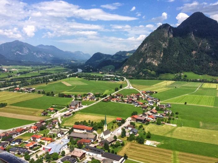 Von Maria Brettfall übersieht man auch das Tiroler Unterinntal