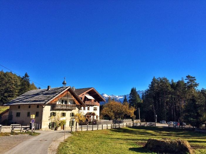 Das Gasthaus Arzkasten: eine Insel der Erholung inmitten einer spektakulären Landschaft.