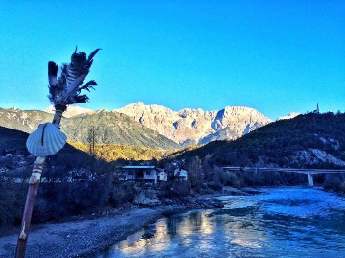 Die Berge der Mieminger Kette als Strahlenkranz