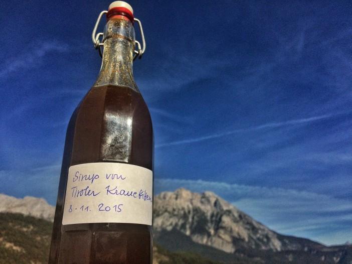 Echter Tiroler Kranebitt-Sirup. Ein wahrhaft himmlischer Genuss.