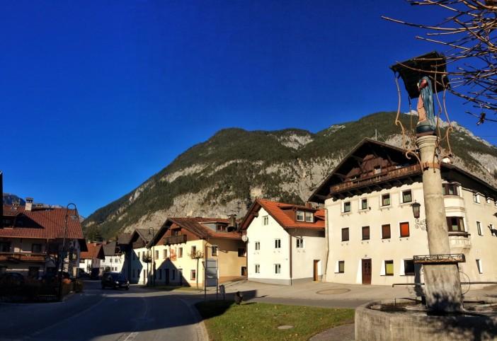Nassereith, die Endstation der wunderbaren Wanderung von Stams über das Mieminger Plateau und den Holzleitensattel.