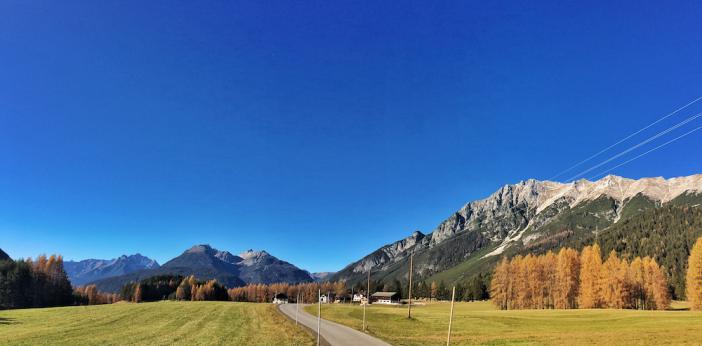 Das fantastische Panorama beim Obsteiger Arzkasten