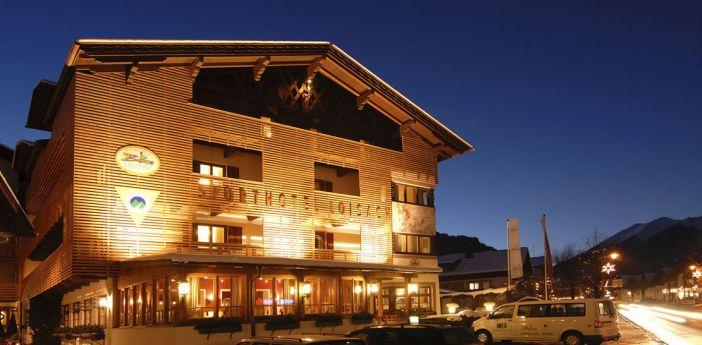 Das Hotel Loisach von Josl Rieder.