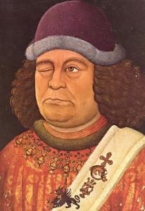 Oswald von Wolkenstein, der Pop-Star des Hochmittelalters schlug zweimal auf Fragenstein die Laute. Bild: wikipedia