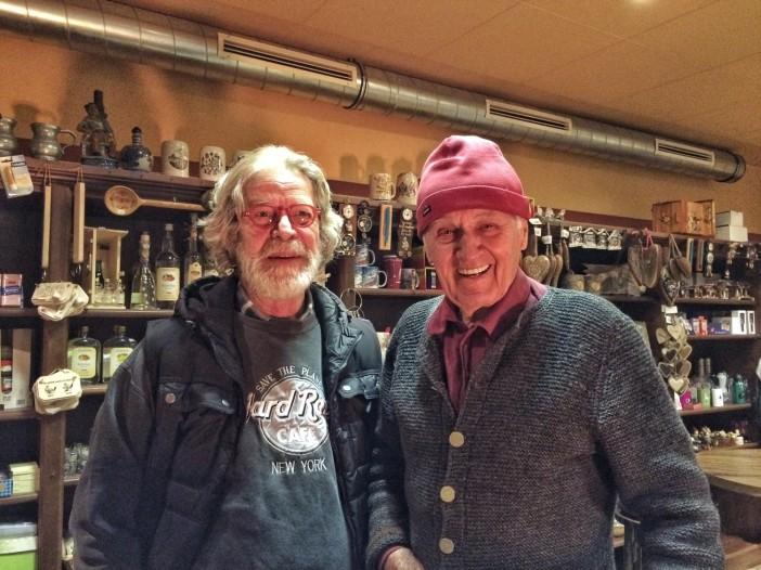 Es war für mich schon eine große Ehre, mit dem legendären Josl Rieder einige Worte zu wechseln. Just an seinem 83. Geburtstag!