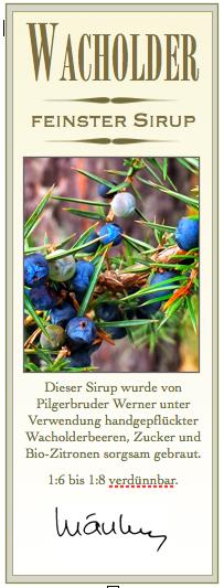 Wacholderlikör aus Tirol
