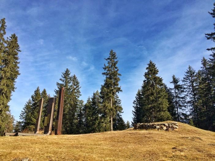 An dieser Stelle am Pillersattel opferten Menschen mehr als 2.000 Jahre lang ihren Göttern.