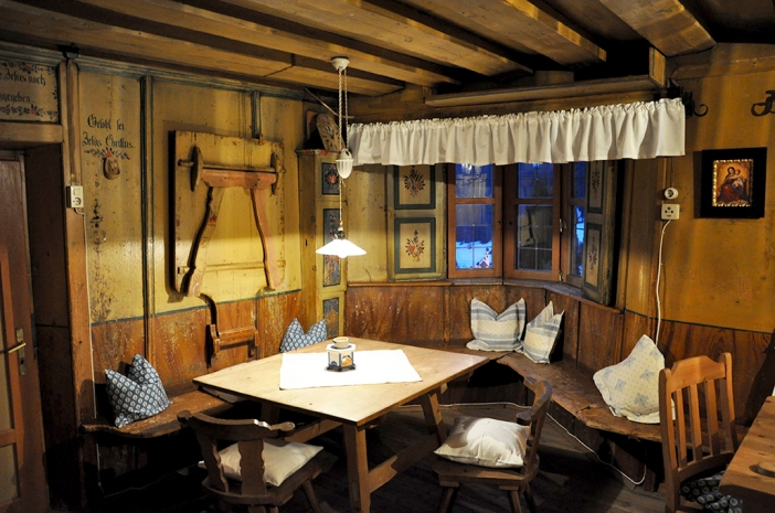 Historische Bauernstube im Peerhof