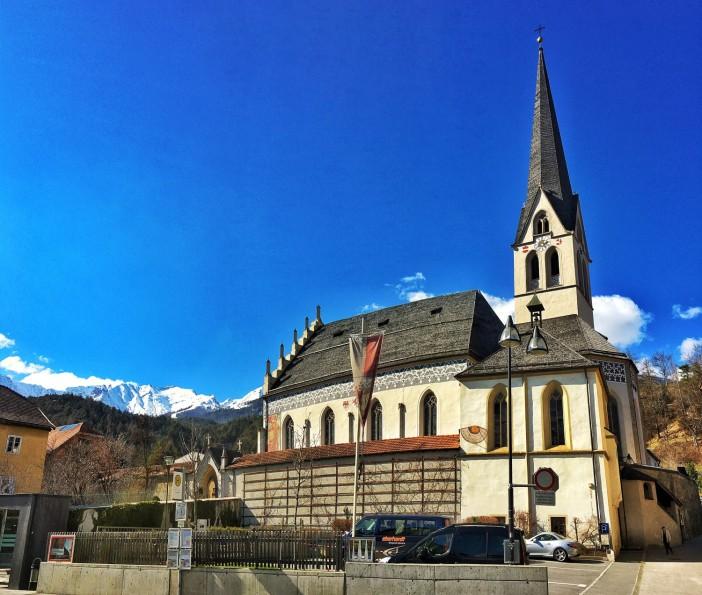 Die Kirche Maria Himmelfahrt in Imst