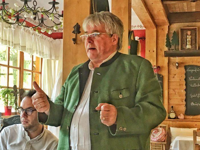 Herbert Hintner, ein Vorkämpfer der authentischen regionalen Küche.
