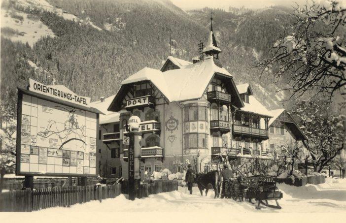 Das Posthotel Kassl, als die Winter noch romantisch waren...