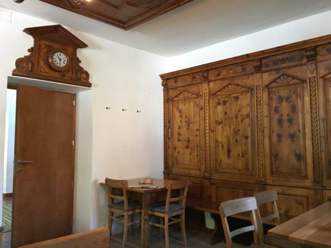 Gemütliche Stuben gehören zum Ambiene des renommierten Bergsteigerhotels Lamm in St. Jodok