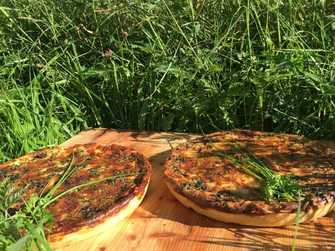 Exquisite französische Quiches, eine Art frankophone Pizza, gehören bereits zu den beliebten Speisen im Bersteigerhotel Lamm.