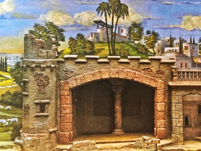 Das Buch beschreibt im Detail den Bau einer orientalischen Krippe.