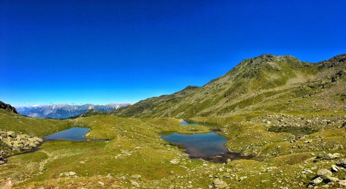 Die Blauen Seen auf der 'Seegrube' im inneren Viggartal.