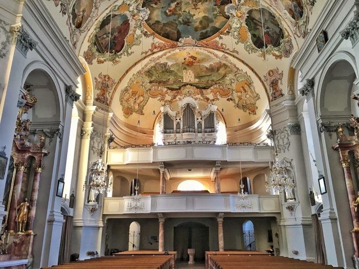 Die Orgel im Dom zu Ebbs