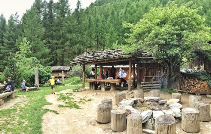 archaeoPark, Besucherzentrum
