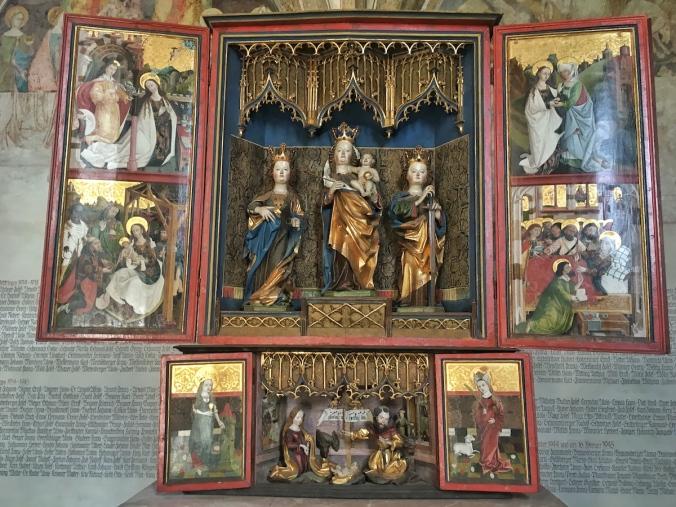 Flügelaltar von St. Magdalena im Halltal