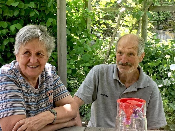 Edith und Robert Bernhard.