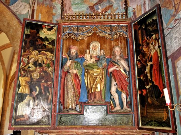 St. Georg, Tösens