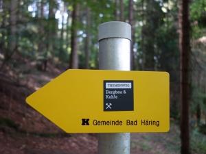 Themenweg Bergbau Kohle Bad Häring