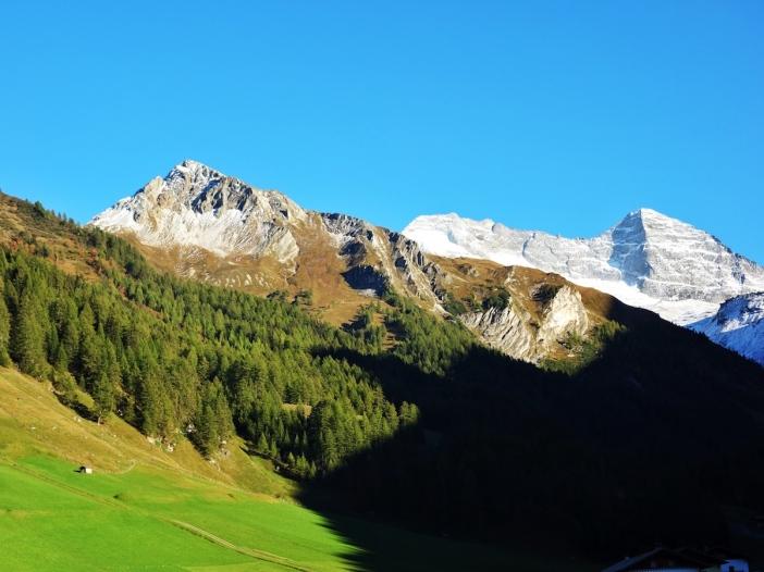 Bergpanorama Fussstein, Olperer