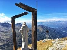 christusfigur auf spizte Hohe Kirche Kopie