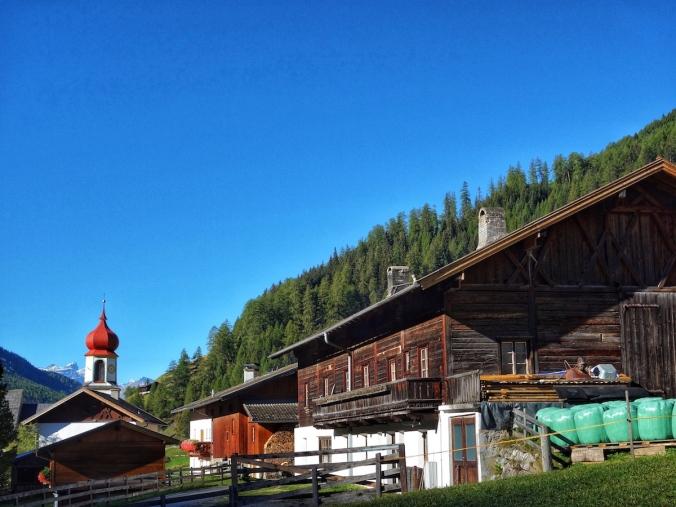 Altes Bauernhaus in Schmirn