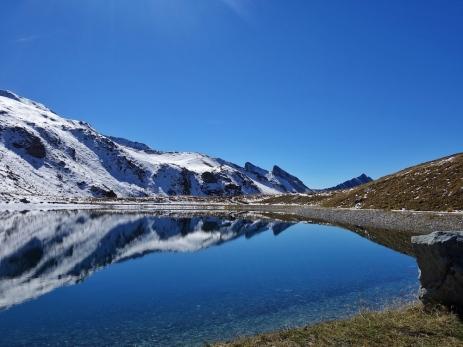 Aus dem einstigen kleinen Teich der prähistorischen Jäger wurde ein Speichersee.