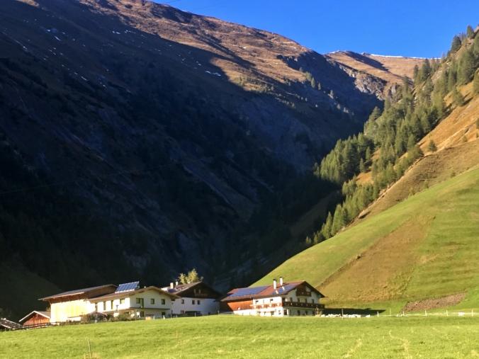 Steckholzerhof in Schmirn Kasern
