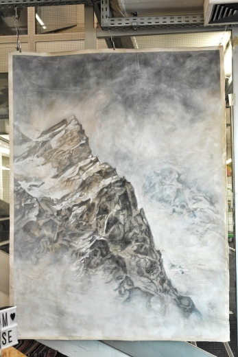 Bergspitze, Jessie Pitt. @Jessie Pitt