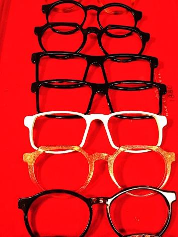 Brillen in allen Formen und Größen