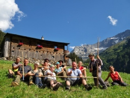 Kurse in der fantastischen Landschaft des Inneren Valsertals