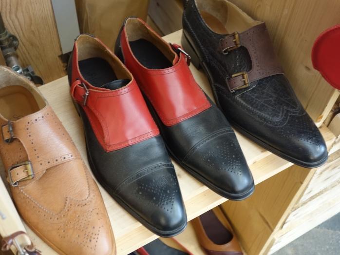 Schuhreparaturen machen den Großteil der Arbeit von Sabine Schöffauer aus.