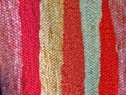 Ein Teppich aus der Weberei Stern