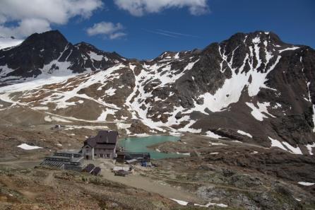Die Schöne Aussicht, eingebettet in die Bergewle des Inneren Ötztales. Bild: L. Hajner.