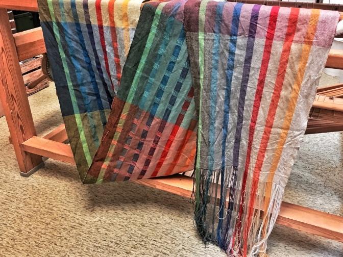 Ein wunderbarer handgewobener Schal
